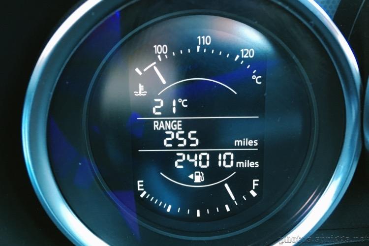 roadster mileage