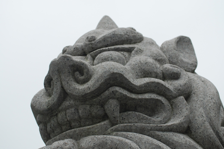 狛犬 (komainu - lion-dog)