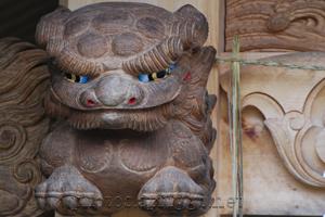 軒の下 (under the eaves)