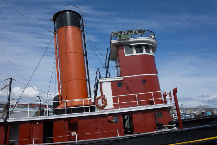 steam tugboat
